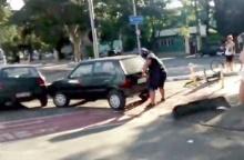มาดูกันว่าพี่เบิ้มจะทำยังไง !? เมื่อเจอรถยนต์จอดขวางเลนจักรยานแบบนี้