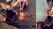 สลด!! รุมแกล้งสาว 15 ทั้งตัดผม จุดไฟเผาซ้ำ ถ่ายคลิปประจาน!!