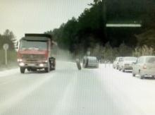 ขับรถมาอยู่ดี ๆ เจอแบบนี้เป็นงงล้อรถมาจากไหน