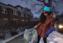 """แฟชั่นใหม่ในฤดูหนาว """"กางเกงแช่แข็ง"""""""