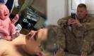 ทหารกลับบ้านไม่ทันภรรยาคลอดลูก ต้องลุ้นผ่านเฟซไทม์ บอกเลยนี่แหละสีหน้าคนเป็นพ่อ (คลิป)