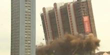 วินาทีระเบิดตึก 31 ชั้นในสก๊อตแลนด์