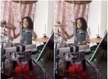 สุดทึ่ง!! เด็กชายวัย 5 ขวบ โซโลกลองชุดเพลงร็อคได้อย่างเทพ
