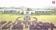 สวยมากต้องดู ทหาร 2พันนายแปรขบวน ทรงพระเจริญ สมเด็จพระเทพ 60 พรรษา