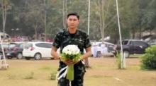 พี่ทหาร เซอร์ไพส์ แฟนพยาบาล ขอแต่งงาน