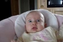 เบบี๋ ตกใจสุดขีด!! เมื่อได้ยินเสียงนี้จากพ่อ!!