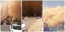 น่ากลัวมาก..พายุทรายถล่มซาอุฯ ราวกับฉากวันสิ้นโลก