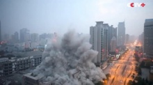 ระเบิดตึก 26 ชั้น ถล่มอย่างเร็วในเวลาแค่ 13 วินาที!!