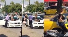 จัดให้หนัก!!เมียนั่งบนรถขวางไม่ให้ผัวขับรถพากิ๊กไปเที่ยว!