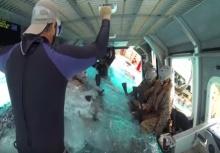 แกร่งสุดยอด!!เบื้องหลัง ฝึกหน่วยนาวิก เมื่อเครื่องบินตกน้ำต้องทำไง!?