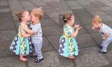 เด็กน้อยวัยกระเตาะ กับจูบแรกของหนูที่เสียไป
