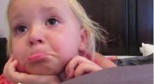 หนูน้อยสุดเศร้า เมื่อน้องที่เพิ่งคลอด ไม่มางานวันเกิด!