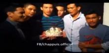 ซิโก้ และ นักฟุตบอล ทีมชาติไทย ร้องเพลงอวยพรวันเกิด ชัปปุยส์