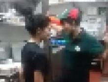 หลุดคลิปพนักงานพิซซ่า แอบ กระแด่ว กันหลังร้านจะๆ !!