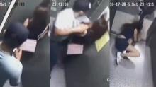 เตือนระวัง!! 2โจรชั่วรุมทำร้ายปล้นสาวในลิฟต์หอพัก!!