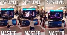 หนุ่มน้อยโชว์ลีลาเต้นกลางห้าง บอกเลยผู้ใหญ่มีอาย!!