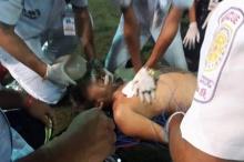 กู้ภัยภูเก็ตสุดเด็ด!!ปั๊มหัวใจช่วยชีวิตนักฟุตบอล ดึงชีวิตกลับมาด้วยสองมือ!!(ชมคลิป)