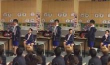 เก่งมาก! เด็กนักเรียนไทยเล่าเรื่องของในหลวงรัชการที่ 9 ให้เพื่อนต่างชาติฟัง