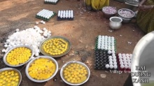 เลี้ยงคนทั้งหมู่บ้าน กุ๊กอินเดียกับไข่ไก่ 1,000 ใบ
