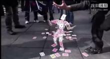 เจ๋ง!! มายากลไพ่แปลงร่างเป็นหุ่นยนต์