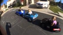 สุดยอด !!! เด็กอายุแค่ 3 ขวบ แต่สามารถขับรถดริฟท์ได้อย่างสวยงาม