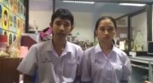 คลิปนี้ไม่ฮาให้ถีบ!  นักเรียนไทยเรียนแบบรายการดังระบายความในใจถึง...