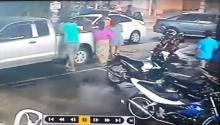 ศาลเตี้ย!! ถอยรถชน..โดนเตะ!ไม่ฟังอธิบาย