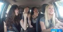 คลิปเตือน!!! สาวๆแดนซ์กระจายตอนขับรถ แต่สุดท้าย..คว่ำเละ!!