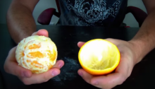 วิธีปอกเปลือกส้ม แบบรัสเซีย สไตล์
