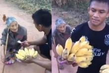 บทสนทนาสุดประทับใจ ระหว่าง  บัวขาว กับ คุณยายขายกล้วย(ชมคลิป)
