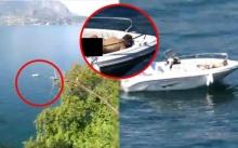 หนุ่มทดลองซูมกล้องไปกลางทะเล กลับเจอช็อตเด็ด โจ๊ะพรึมๆ!! วาดลีลาท้าแสงแดด (คลิป)