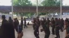 ช่วงนี้ทหารเคลียดบ่อย ครูฝึกเลยให้ระบาย