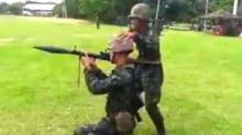 ลุ้นเยี่ยวเหนียว!! พลทหารยิง RPG แต่สุดท้าย? (ชมคลิป)