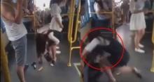 ขึ้นรถเมล์ไม่จับราวระวังให้ดี..จะเป็นแบบนี้ลั่นเลย(ชมคลิป)