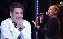 สาวใหญวัย 52 จากอเมริกา ขึ้นเวที Thailand's Got Talent พอได้เปล่งเสียงเท่านั้นแหละ? (คลิป)