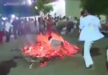 แอบสยอง!!เมื่อร่างทรงล้มใส่กองไฟ อิทธิฤทธิ์จะสำแดงไหม!!