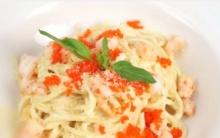 พาสต้าครีมซอสวาซาบิ Pasta Wasabi Cream Sauce