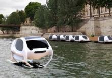 โบกเเท็กซี่ยาก! ฝรั่งเศสผุดทางเลือกไฮเทค Sea Bubbles เเท็กซี่วิ่งบนผิวน้ำ(คลิป)