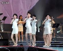 โมรันบองเกิร์ลกรุ๊ปที่ฮอตสุดของเกาหลีเหนือ!!!