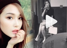 เจสสิก้า จอง โชว์ร้องเพลงสดๆ เสียงหวาน ชวนเคลิ้ม!!!