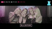 การแสดงสดเปิดตัวครั้งแรกของสาวไทย LISAและ BlackPink เกิร์ลกรุ๊ป วงแรกของ YG