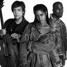 FourFiveSeconds - Rihanna and Kanye West and Paul Mccartney