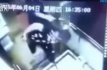 สยองหนุ่มจีนลิฟต์ขัดข้องถูกหนีบตาย