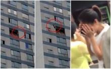 วินาทีสยอง หนุ่มพุ่งกระโจนออกจากตึกฆ่าตัว คนมุงดูกรีดร้องระงม