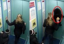 อุทาหรณ์!!จูงหมาเข้าลิฟต์ประตูหนีบสายจูงดึงทำหมาเกือบตาย!!
