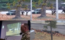 เปิดคลิประทึก!! ทหารเกาหลีเหนือถูกไล่ยิงกราดวินาทีหนีเข้าฝั่งเกาหลีใต้ (คลิป)