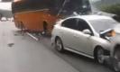 ชนสยอง! รถบัสรับส่งนักเรียน ชนระนาว ตาย 4 เจ็บ 37