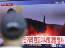 """นาที เกาหลีเหนือยิง ขีปนาวุธข้ามหัวญี่ปุ่น """"คิมจองอึน"""" กร้าวต่อไป """"กวม"""""""