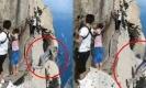 ช็อก!!! เผยคลิปหนุ่มดิ่งเขาฆ่าตัวตายปริศนา ต่อหน้าต่อตานักท่องเที่ยว (คลิป)