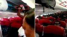 ผู้โดยสารเปิดใจประเด็นโต้แย้งกับแอร์โฮสเตสบนเครื่องบิน